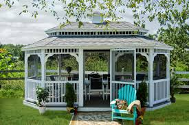 Project Gazebo: How To Decide On Options - Byler Barns Backyard Gazebo Ideas From Lancaster County In Kinzers Pa A At The Kangs Youtube Gazebos Umbrellas Canopies Shade Patio Fniture Amazoncom For Garden Wooden Designs And Simple Design Small Pergola Replacement Cover With Alluring Exteriors Amazing Deck Lowes Romantic Creations Decor The Houses Unique And Pergola Steel Are Best