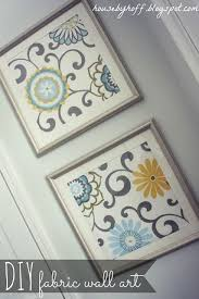 Goodwill Frames To Fabric Art Diy Home Crafts Finished Product