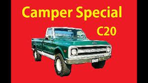 Classic C20 69 Chevrolet C/K Camper Special Video GMC Action Line ...