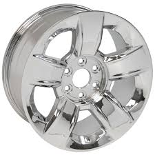 20-inch Chrome Rims Fit Chevy Silverado - CV79 OEM Wheels