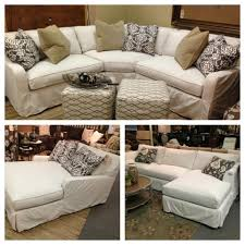 Custom Slipcovers For Sectional Sofas by Robin Bruce Havens Slipcover Sofa Now Available As Sectional Sofa