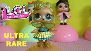 LOL Surprise Doll ULTRA RARE 24K Gold LUXE And 2 Unboxing