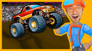 Monster Trucks With Blippi Toys | Monster Truck Song For Kids – Kids ...