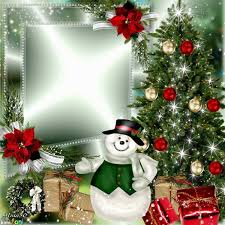 Christmas Tree Frame By Alma50 Click Through To Add A Photo And Save Or Share