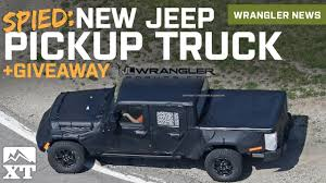2019 Jeep JT Wrangler Pickup Truck Spied + Fender Flare Giveaway ... Jeep Wrangler Pickup Hitting Showrooms In April 2019 The Wranglerbased Truck Will Probably Look Like This 2018 New Spied Send The Mules 20 Scrambler Render Looks Ready For Real World Gladiator Aka Everything We Know Cars Jl Forums With Ram Truck Platform Could Underpin New Pickup Reveal Debuts At La Auto Show Will Be Named Not Upcoming Finally Has A Name Autoguidecom News Is Glorious