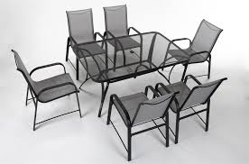 COSCO 88645GLGE Outdoor Living Paloma Steel Patio Dining Chairs, 6-Pack,  Light/Drak Gray Paloma 180cm Oval Glass Ding Table With Helsinki Fabric Chairs Tricia Black Chair 135cm Round Calgary Reclaimed Wood Rectangular Set Rolled Back Cream Cotton By Inspire Q Artisan Cosco Outdoor Living 88646glge Patio Tempered Top Gray Margo 15m Java Root 6 Crate And Barrel For Inspiring Rustic Style Signal Hills Salvaged Upholstered Of 4 Details About Sco Steel Light Sling Dark Strless Rosemary Low