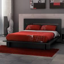 Fascinating Grey Bedroom Wall Design With Solid Black Asian Of Photo Red Ideas