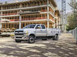 100 Chevy Utility Trucks Announces 48465 Starting MSRP For 2019 Silverado Chassis Cab
