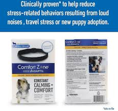 Great Pyrenees Excessive Shedding by Comfort Zone With Adaptil Calming U0026 Comfort Adjustable Dog Collar