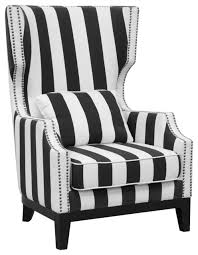 fashionable idea accent chairs black and white black and white