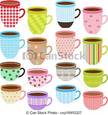 Cup And Mug In Pastel Color