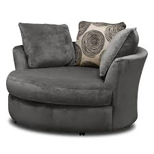 Daher Decorated Ware History by 100 Swivel Cuddle Chair Grey Round Swivel Cuddle Chair Home