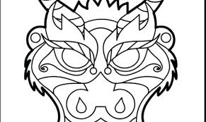 Chinese Dragon Coloring Pages Fantasy Free Printable Adult Sheet