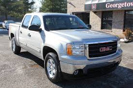 Used 2007 GMC Sierra SLE Silver Bed Cover For Sale Georgetown Auto ... Coeur Dalene Used Gmc Sierra 1500 Vehicles For Sale Smithers 2015 Overview Cargurus 2500hd In Princeton In Patriot 2017 For Lynn Ma 2007 Ashland Wi 2gtek13m1731164 2012 4wd Crew Cab 1435 Sle At Central Motor Grand Rapids 902 Auto Sales 2009 Sale Dartmouth 2016 Chevy Silverado Get Mpgboosting Mildhybrid Tech Slt Chevrolet Of