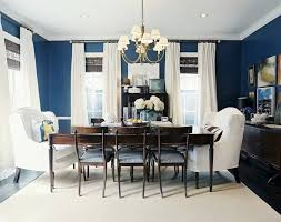 Paint Color For A Living Room Dining by Before U0026 After A Blank Dining Room Plus Rich Bold Color Blue