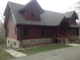 Log Home Staining Problems