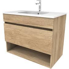 sanotechnik waschplatz 61 5 cm smart eiche