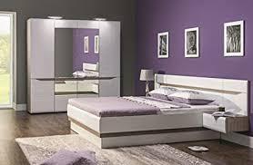 qmm traum moebel schlafzimmer komplett weiß hochglanz