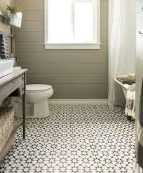 patterned floor tiles in vintage bathroom decorations flooring