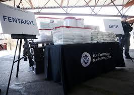 100 Biggest Truck Ever US Border Agency Claims Biggestever Fentanyl Bust In Arizona