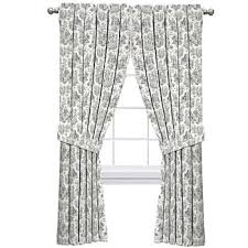 Waverly Curtains And Drapes by Waverly Black Curtains U0026 Drapes For Window Jcpenney