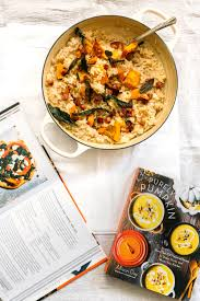 Pumpkin Risotto Recipe Vegan by Oven Baked Squash Risotto Recipe With Sage U0026 Pancetta