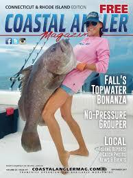 Upper Deck Westbrook Ct Accident by Coastal Angler Magazine September Connecticut U0026 Rhode Island
