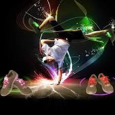 1 pcs light luminous shoelace boys light up led