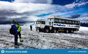 100 Ice Truck Monster Riding On The Glacier Editorial Photo Image Of