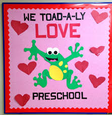 We Toadally Love Preschool Bulletin Board