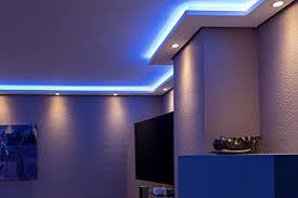 stuckleisten lichtprofil für indirekte led beleuchtung
