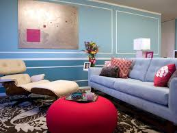Two Tone Walls With Chair Rail by Two Tone Walls With Chair Rail Blue Living Room With Two Tone