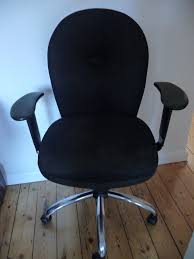OFFICE CHAIR BLACK FABRIC   In Guildford, Surrey   Gumtree 12 Best Recling Office Chairs With Footrest Of 2019 The 14 Gear Patrol Black Studyoffice Chair Seat Cha Ks Pollo Chrome Base High Back Adjustable Arms Chair 1 Reserve Rolling Desk Trade Me 8 Budget Cheap Fniture Outlet Quick Sf112 New Headrest Just Give Him The Its That Easy Employer