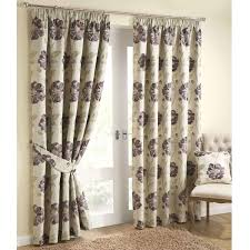 Thermal Lined Curtains Australia by Brown Pencil Pleat Curtains Memsaheb Net