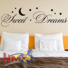 dekoration hm wandtattoo sprüche sweet dreams wohnzimmer