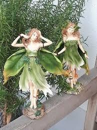 gartenfiguren skulpturen keramik fee elfe deko garten