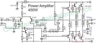 Hunter Ceiling Fan Wiring Schematic by Power Amplifier 450w With Sanken Power Amplifier