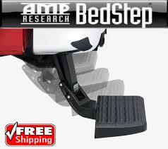 100 Retractable Truck Steps AMP BedStep Bumper Bed Step For 1518 Ford F150 F150