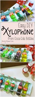 100 Home Made Xylophone Easy DIY From CocaCola Bottles Nerdy Mamma