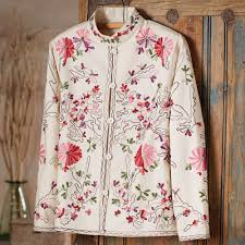 indian embroidered floral jacket national geographic store