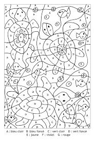 Dessins Gratuits à Colorier Coloriage Magique Addition à Imprimer