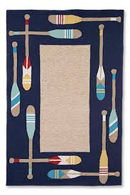 Nautical Indoor Outdoor Rug Paddle Away Indoor Outdoor Rug Orvis