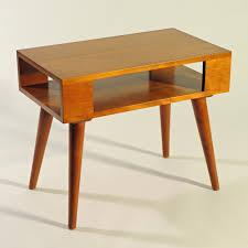 Danish Modern Sofa Legs by Russel Wright 4 Conant Ball Solid Maple Dowel Leg End Table