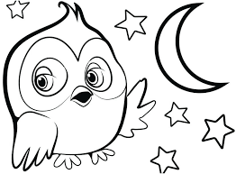 Cute Owl Drawings Coloring Pages Display Draw An 9 Pics Animal Jam Cartoon