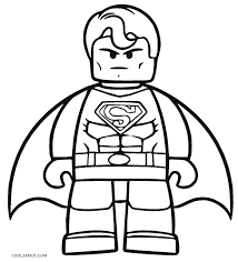 Superman Coloring Pages Images Trend Free Printable Logo