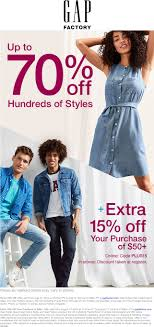 Gap Factory Coupons - Extra 50% Off All Adult, 40% Off Gap Factory Coupons 55 Off Everything At Or Outlet Store Coupon 2019 Up To 85 Off Womens Apparel Home Bana Republic Stuarts Ldon Discount Code Pc Plus Points Promo 80 Toddler Clearance Southern Savers Please Verify That You Are Human 50 15 Party Direct Advanced Personal Care Solutions Bytox Acer The Krazy Coupon Lady