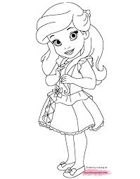 Ariel Wearing A Pretty Dress