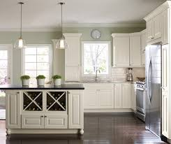 f White Painted Kitchen Cabinets Homecrest