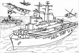 Army Airplane Coloring Pages Donald And Gang Page