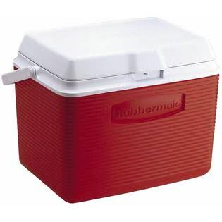Rubbermaid Ice Chest Cooler - Red
